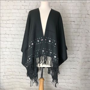 Gray Michael Kors Shawl NWT One Size Fits Most